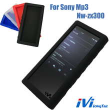 ZX 300 Case for Sony Walkman Mp3 NW-ZX300 NW-ZX300A NW ZX300 players Gel Soft Rubber Skin Lanyard Film