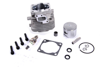 4 hole 29cc cylinder set fit ZENOAH CY RVOAN engines for 1/5 hpi rovan km baja losi rc car parts