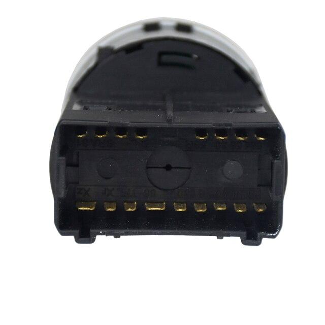 Newest Headlight Control Switch Fog Light Knob for VW Bora Golf 4 POLO 9n Beetle PASSAT B5 1998-2004
