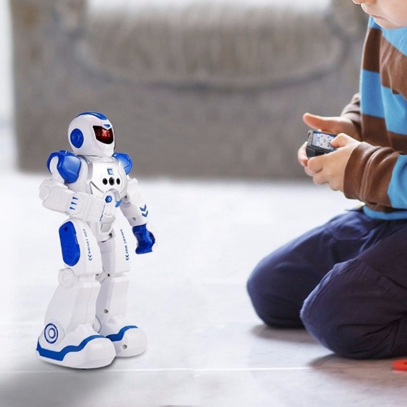 Intelligent Programming Gesture Sensing Smart Robot RC Toy Gift For Children Kids Remote Control Robot New Year Toys For Boys