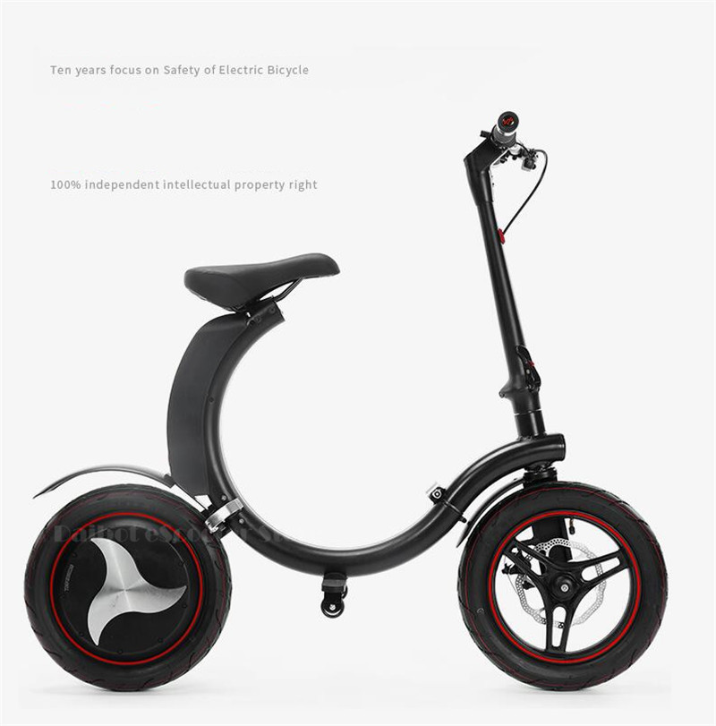 Daibot Mini Electric Bicycle Two Wheel Electric Bicycle 14 Inch 350W 36V 32KMH Foldable Portable Adults Electric Bicycle Bike   (7)