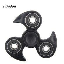 Elsadou Whirlwind Tri Hand Spinner Toy Best Fidget Finger Spinner