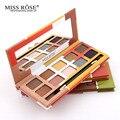 Paleta de maquiagem Kit de Maquiagem 10 cores da Sombra do Olho com o Matt Olhos Make Up Paleta de Sombra Glitter Sombra Pallete Kosmetika
