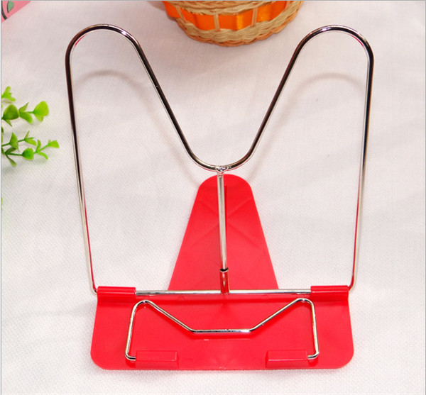 20 pcs Adjustable Durable Foldable Reading Book Stand Document Holder Office Supply