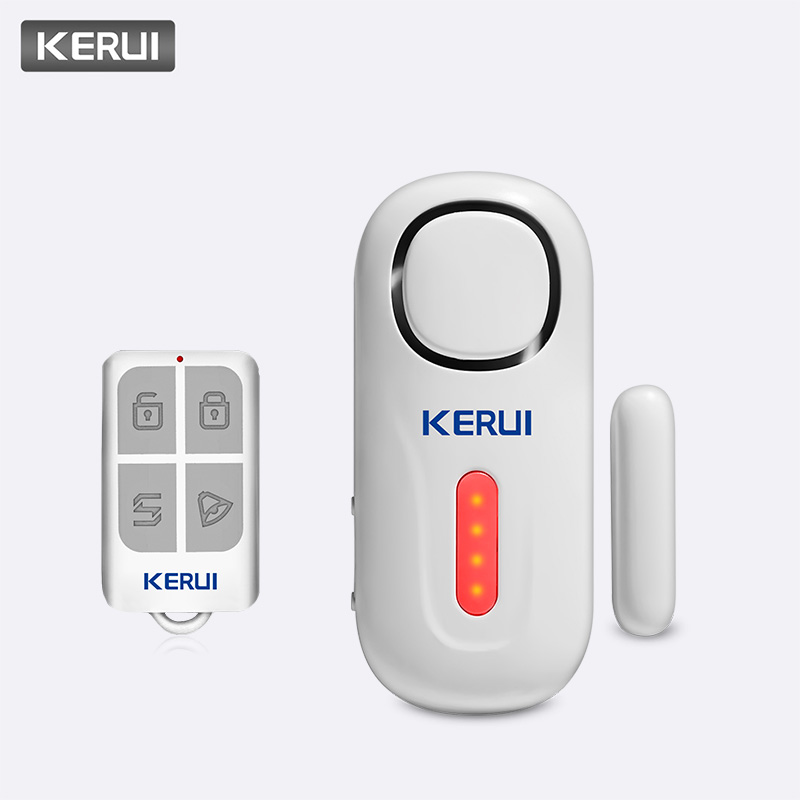 KERUI Home Security Wireless Door Window Entry Burglar Sensor Alarm PIR Door Sensor Alarm System Safety With Remote Control Kit
