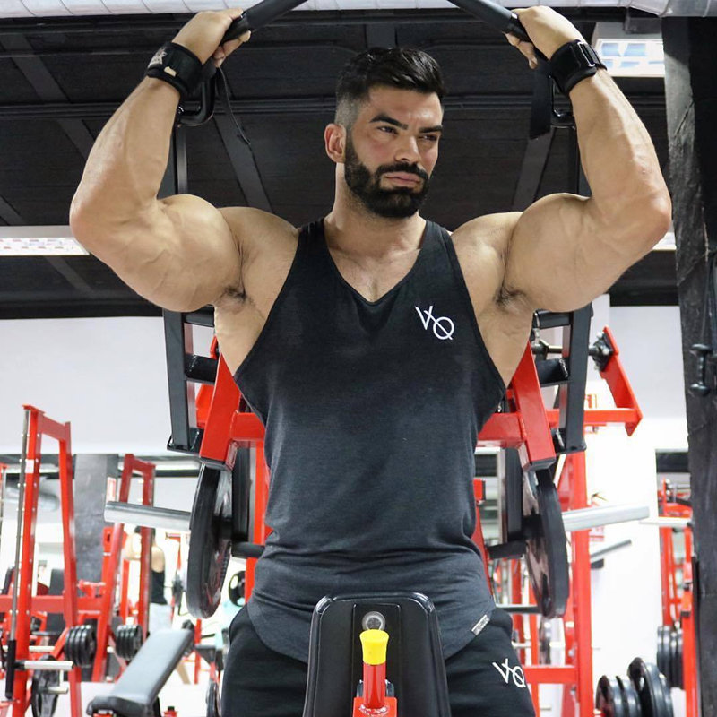 Mens Fitness Bodybuilding   Tank     Tops   Gyms Brand Jogger Clothing Man Workout Sleeveless Undershirt Male Casual Cotton Sling Vest