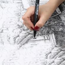 6 adet/grup astar Pigma Pigment mikron jel kalem Fineliner Ultra ince sanat işaretleyici Arties çizim malzemeleri kırtasiye