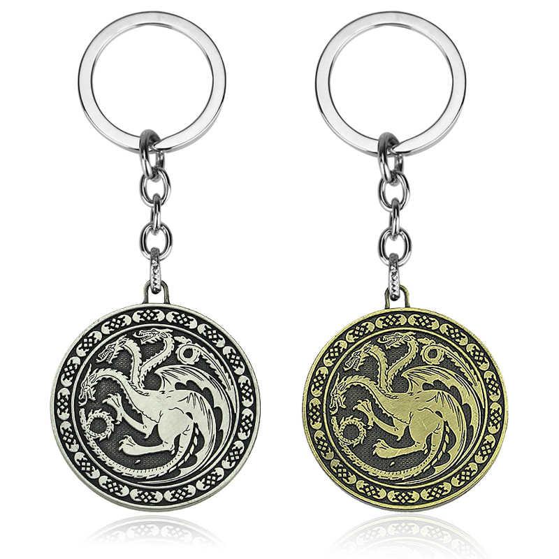 Gra o tron rodzina Logo brelok rodzina lew wilk smok deer Lannister Targaryen Stark Baratheon Arryn Greyjoy się w kategorii breloczki