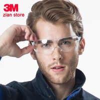 3M 10436 Schutzbrille Männer Mode Sonnenbrille Arbeit Im Freien Sport Radfahren Anti UV Shock Staub Beweis Beständig UV Gläser
