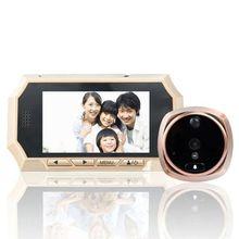 4.3 pulgadas LCD Digital Inalámbrico Timbre de la puerta Mirilla Puerta del Ojo de la Cámara Del Monitor