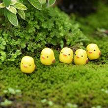 5Pcs / Set Kawaii Mini Sheep Animals Home Micro Fairy Garden Figurines Miniatures Home Garden Decor DIY Accessories