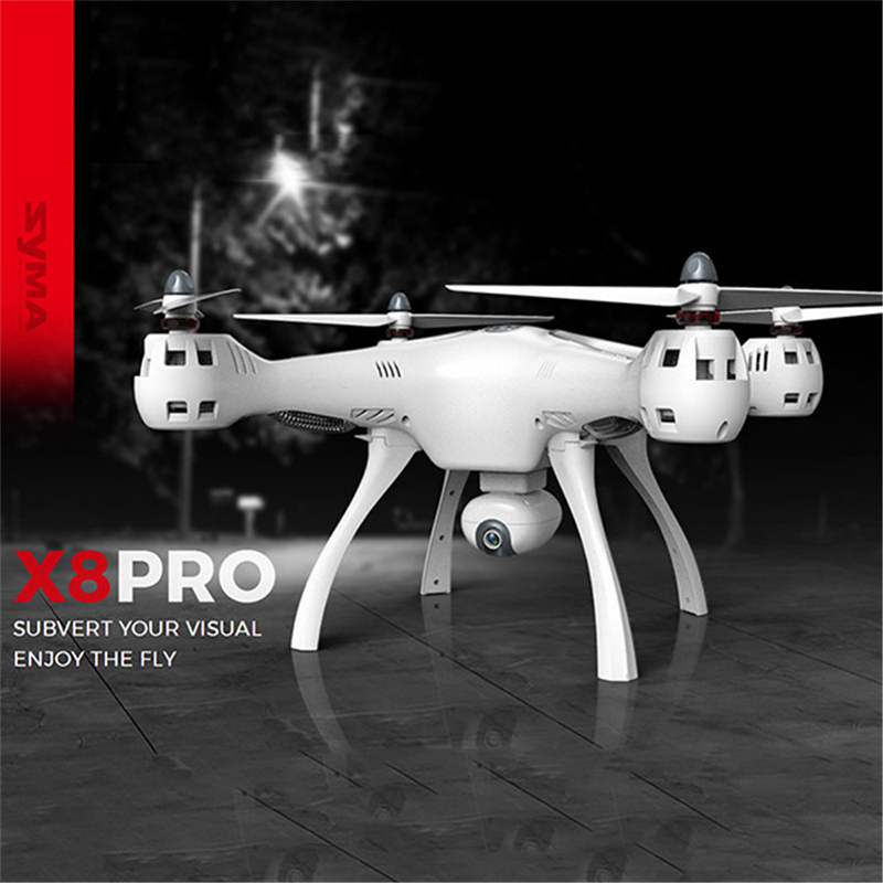 Professional font b Drone b font Syma X8 Pro RC Helicopter Toy Brushless Motor 2 4G