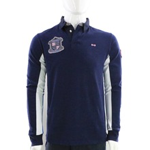 2016 FRANCE EDEN PARK MEN'S POLO SHIRT LONG SLEEVE ORIGINAL WITH HIGH QUALITY NEW DESIGN COLLECTION BIG SIZE FREE SHIPPING
