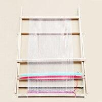 New Wooden Weaving Loom Knitting Machine Hand Craft Knit Wool Yarn Weaver Knitter Tool 70*47.5*3cm