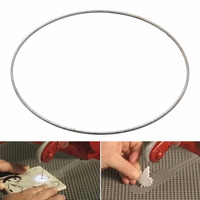 1pc Diamond Coated Saw Blades 143mm Stained Glass Replacement Blade For 3 Ring Band Saw Mayitr