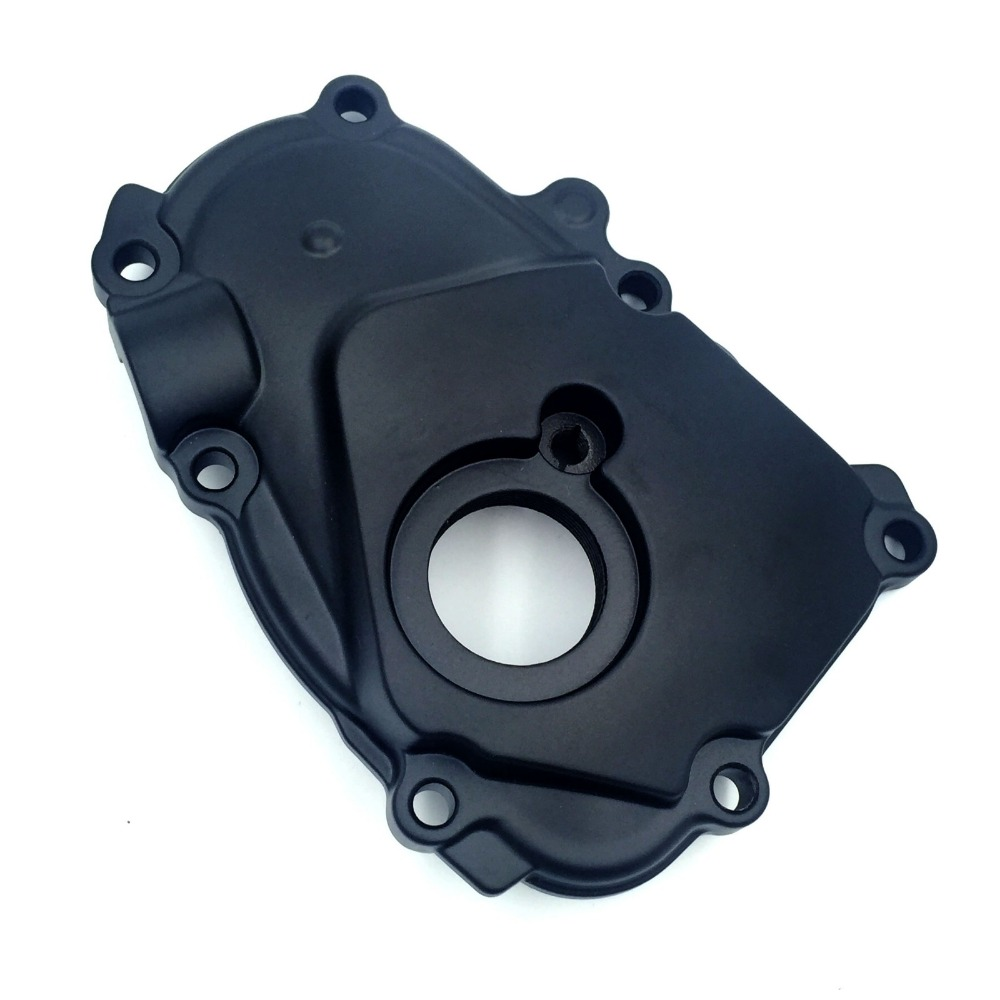 ФОТО  Aftermarket free shipping motorcycle parts Right Side Engine Crankcase Cover Ignition Trigger For 2003-2005 Yamaha YZF-R6 Black