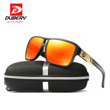 DUBERY ბრენდის დიზაინი პოლარიზებული სათვალეები ავიაცია მართვის მზის სათვალეები მამაკაცები ქალთა სპორტი თევზაობა ძვირადღირებული ბრენდის დიზაინერი Oculos UV400
