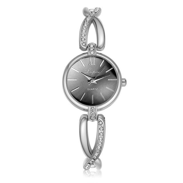 Woman watches Selling fashion women wristwatch luxury Luxury Crystal Gold Watche