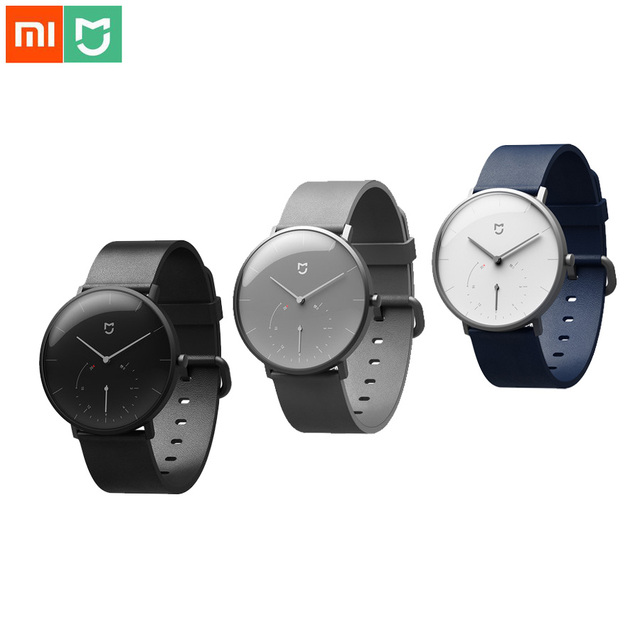 Xiaomi Mijia Quartz Smart Watch Activity Fitness Tracker Automatic Calibration Time Watches Waterproof Intelligent Mi Smartwatch