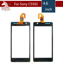 Original 4.6 For Sony Xperia ZR M36H C5503 C5502 LCD Touch Screen Digitizer Sensor Outer Glass Lens Panel Replacement 10pcs lot 4 0 for sony xperia m c1904 c1905 c2004 c2005 lcd touch screen digitizer sensor outer glass lens panel replacement