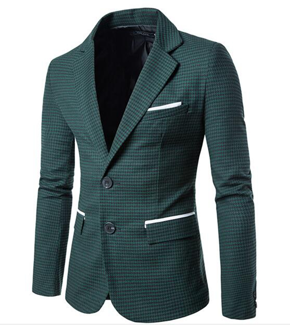 Man han edition cultivate ones morality fashion boutique wedding host plover case two grain of buckle suit jacket 285 / M-2XL