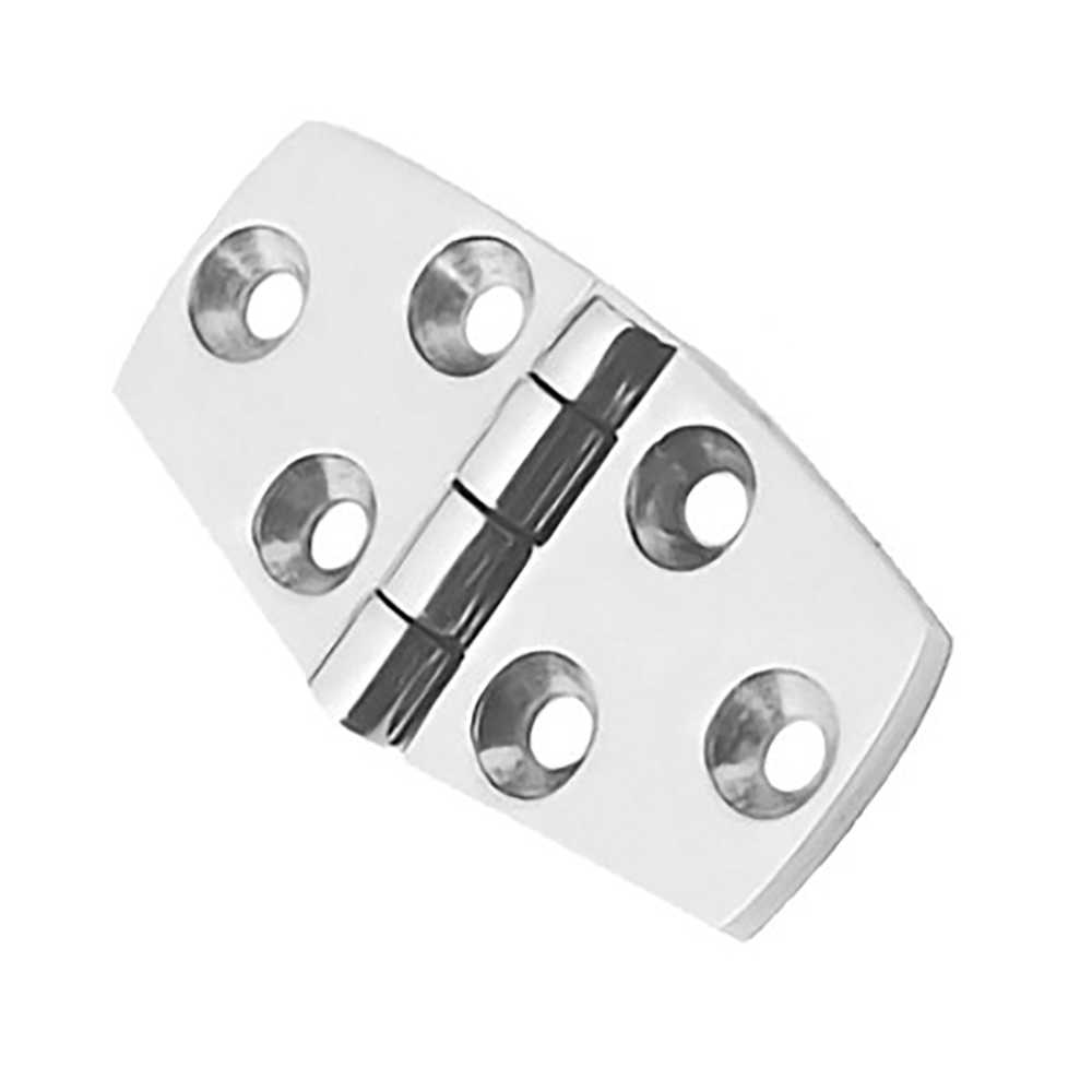 Silver Stainless Steel Boat Marine Grade Flush Door Hatch Compartment Hinges Hardware Industrial Heavy-duty hinge