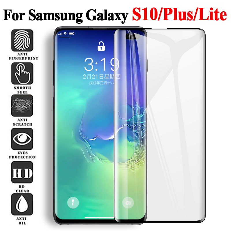 3D Protective Tempered glass for Samsung Galaxy s10 plus s 10 s10plus screen protector For smasung s 10plus S10 Clear protection3D Protective Tempered glass for Samsung Galaxy s10 plus s 10 s10plus screen protector For smasung s 10plus S10 Clear protection