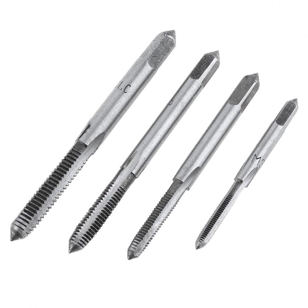 20pcs Set Alloy Steel Taps And Dies Set M3 M12 Screw Thread Die Wrench Manual Metric Tapping Tool Kit Set 19