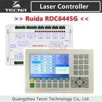 TECNR Ruida RDC6445 RDC6445G laser machine controller for co2 laser engraving cutting machine upgrade RDC6442 RDC6442G