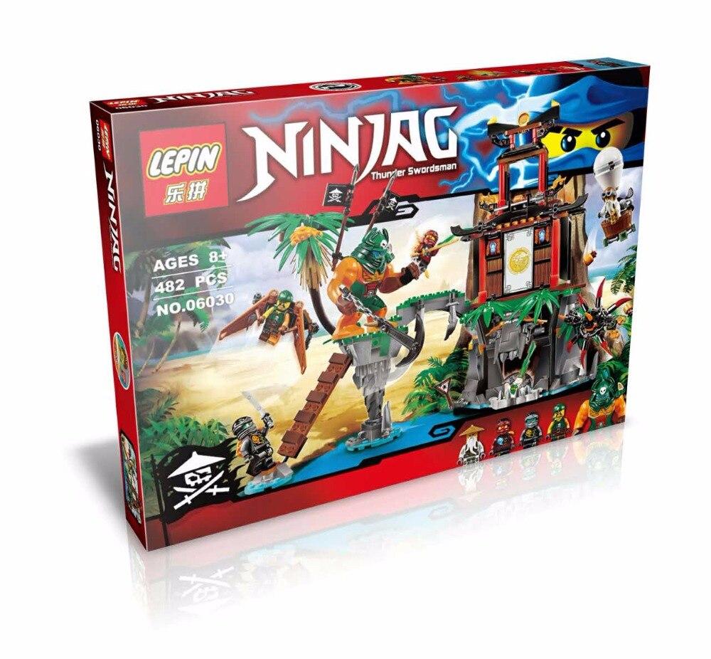 06030 LEPIN Black Widow Island Ninjagoed Marvel Ninja Building Block Model Toys Minifigures Compatible With Lego