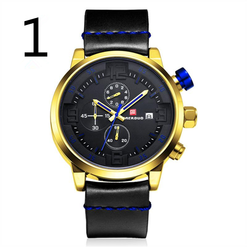 Wukong Edition Dragon Ball Black Gold Watch Male Student Sports Electronic Men's Watch