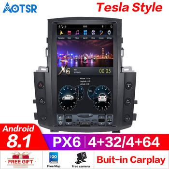 Android 8.1 Tesla style 4GB RAM Car GPS Navigation Auto No DVD Player For Lexus LX570 radio tape recorder head unit multimedia
