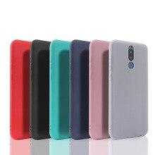 For Huawei Nova 2i case Huawei Mate 10 Lite Case Matte Soft