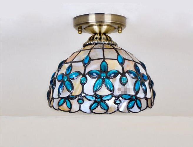 Blue Lilac Ceiling Light 15