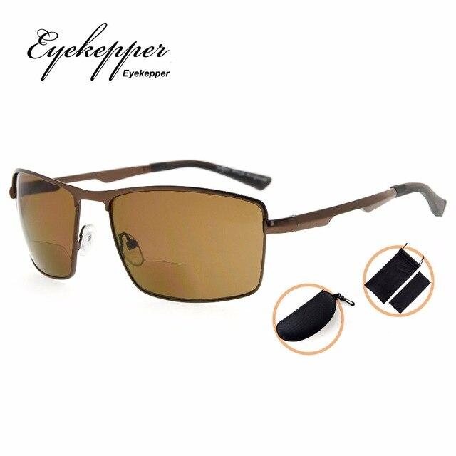 d98ead49b718 SG802 Eyekepper Bifocal Sunglasses Bifocal Sun Readers Outdoor Reading  Glasses Men +1.00~+3.50