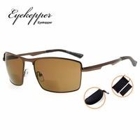 SG802 Eyekepper Bifocal Sunglasses Bifocal Sun Readers Outdoor Reading Glasses Men 1 00 3 50