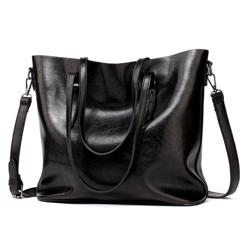 DIDA BEAR Women Leather...