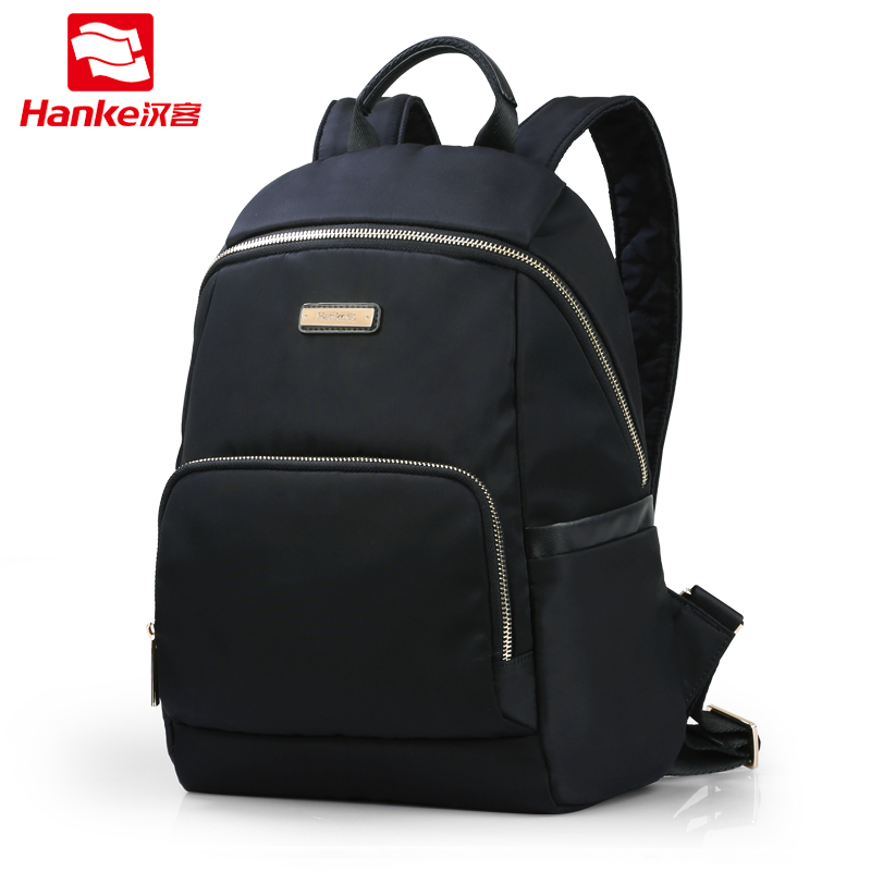 цена на Hanke 2018 Women Backpack Student School Bag for Teenager Girl Fashion Shoulder Bags Small Bagpack Female Casual Travel Daypack