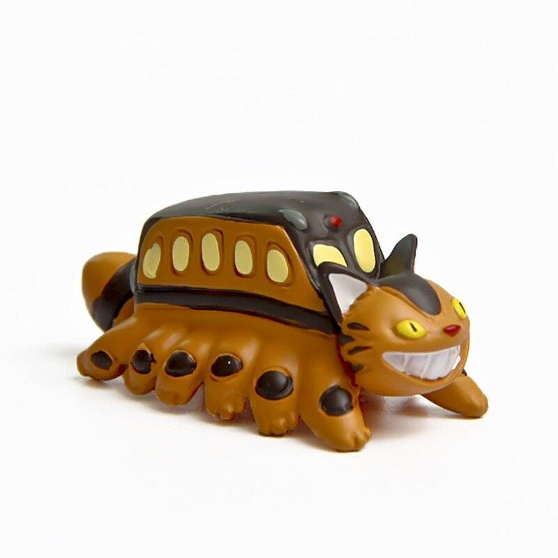 ツ)_/¯My Neighbor Totoro Cat Bus Resin Action Figure Miyazaki Hayao ...