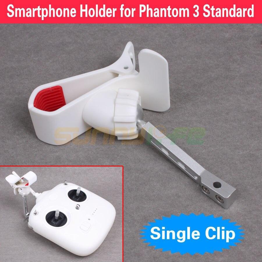 Пульт дистанционного управления держатель металлический кронштейн расширенный держатель телефона один клип Макс открытия 95 мм для <font><b>DJI</b></font> <font><b>Phantom</b></font> <font><b>3</b></font>&#8230;