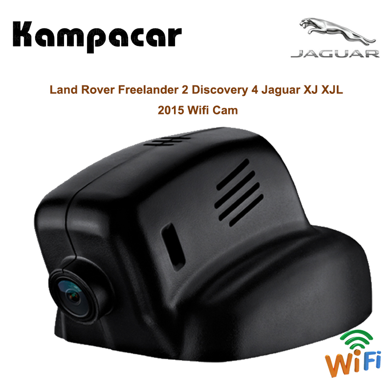 Kampacar 2 Hidden Wifi Car Dvr Camera Video Recorder Dual Lens Dash Camera For Land Rover Freelander 2 Discovery 4 XJ XJL