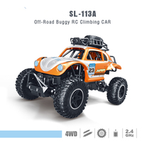 2018 Manufacturers direct 1:14 four drive power electric cute beetles climbing remote control car children's gifts