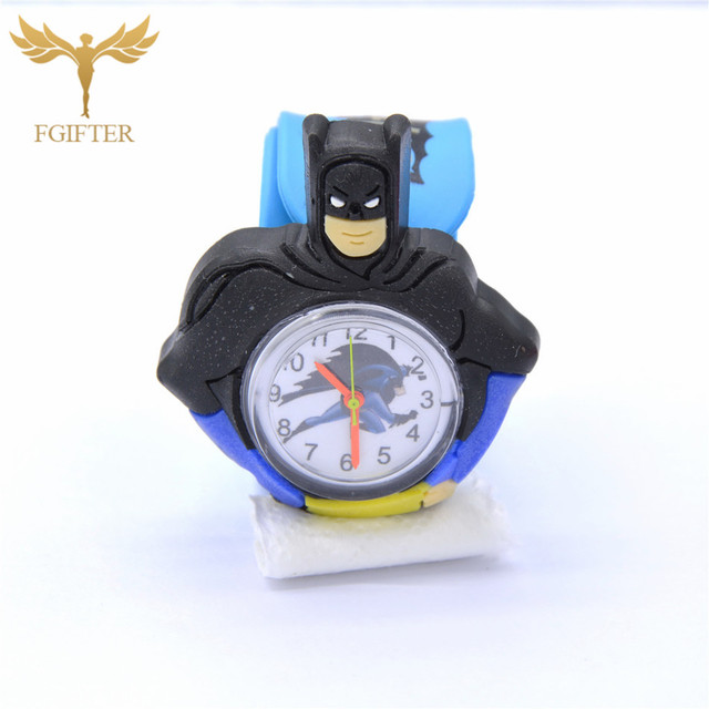 Children's Watches 3D Cartoon Kids Wrist Watches Children Baby Watch Clock Quart