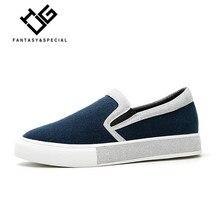 IGU 2018 Mocassins Femininos Sapatos de Plataforma Plataforma Sapatos  Casuais Mulheres Com Painéis Azul Sapatos Feminino b64eb5606dbe
