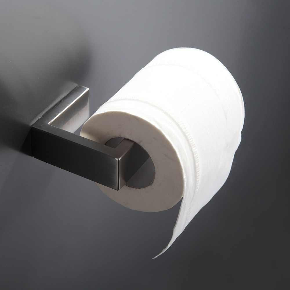 FLG 304 zestaw akcesoriów łazienkowych ze stali nierdzewnej pojedynczy wieszak na ręcznik, wieszak ścienny, uchwyt na papier zestawy sprzętu do kąpieli