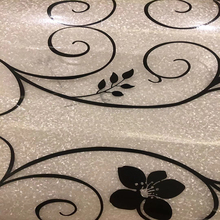 1mmTable PVC table cloth pad waterproof anti scald oil proof disposable soft glass plastic mats with frosted crystal plate