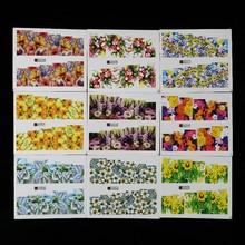 Flower Series Water Transfer Nail Kit