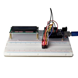 Image 3 - خصم كبير كاتب عدة لاردوينو UNO R3 و Mega2560 مجلس MB102 اللوح 1602 LCD محرك معزز التتابع التعلم الأساسية