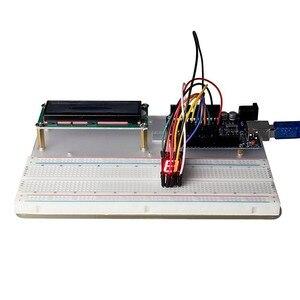 Image 3 - VENDITA CALDA Super Starter Kit Per Arduino UNO R3 e Mega2560 Bordo MB102 Tagliere 1602 LCD Servo Del Motore Relè di Apprendimento di base Suite