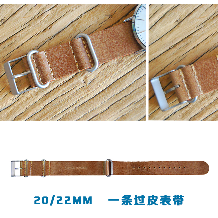 20/22mm Genuine leathe Watch Band for Timex Weekender Expedition Nato Strap Wrist Bracelet  20/22mm Genuine leathe Watch Band for Timex Weekender Expedition Nato Strap Wrist Bracelet
